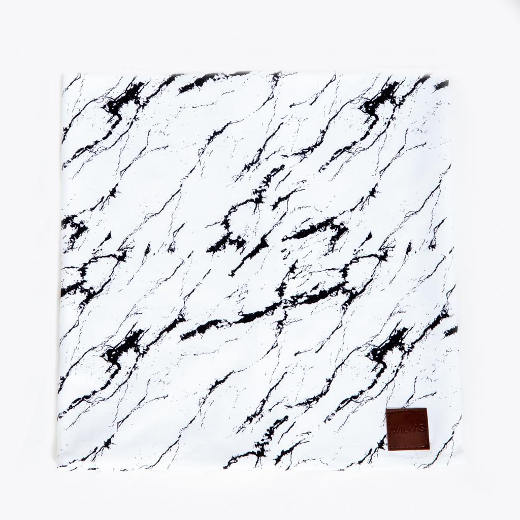 Valkoinen marmori tuubihuivi