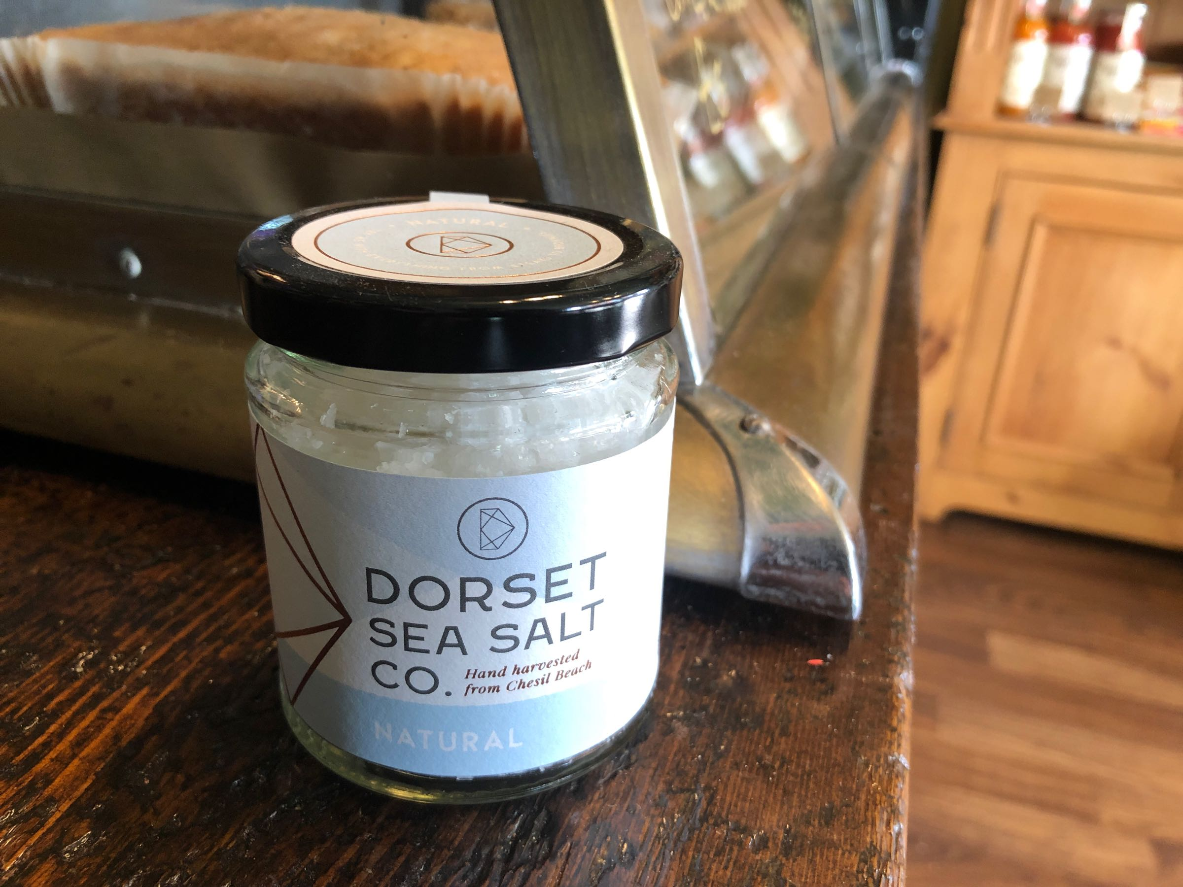 Dorset Sea Salt 125g Jar Natural Dorset Sea Salt