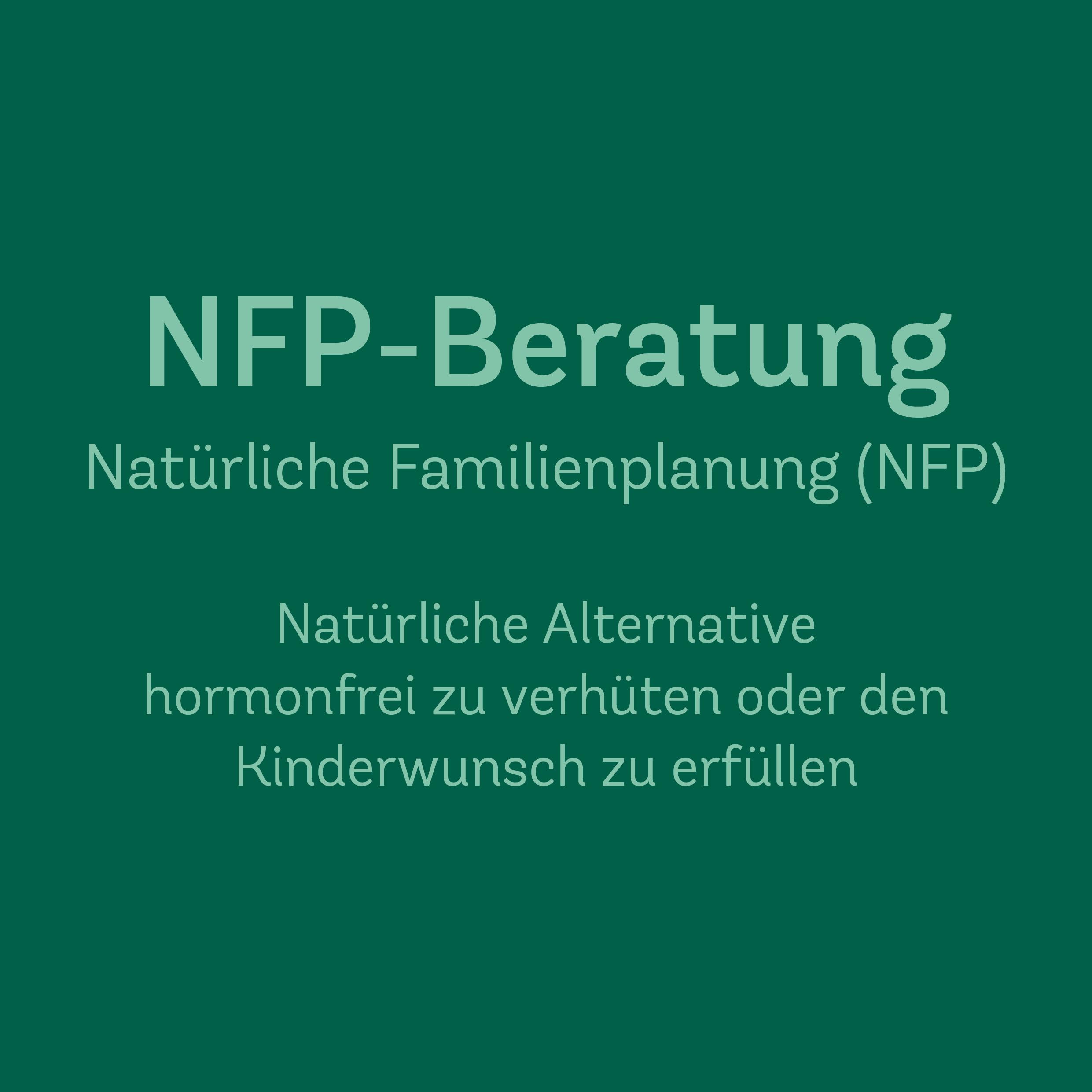 NFP Beratung/Kurs mit 4-5 Einheiten