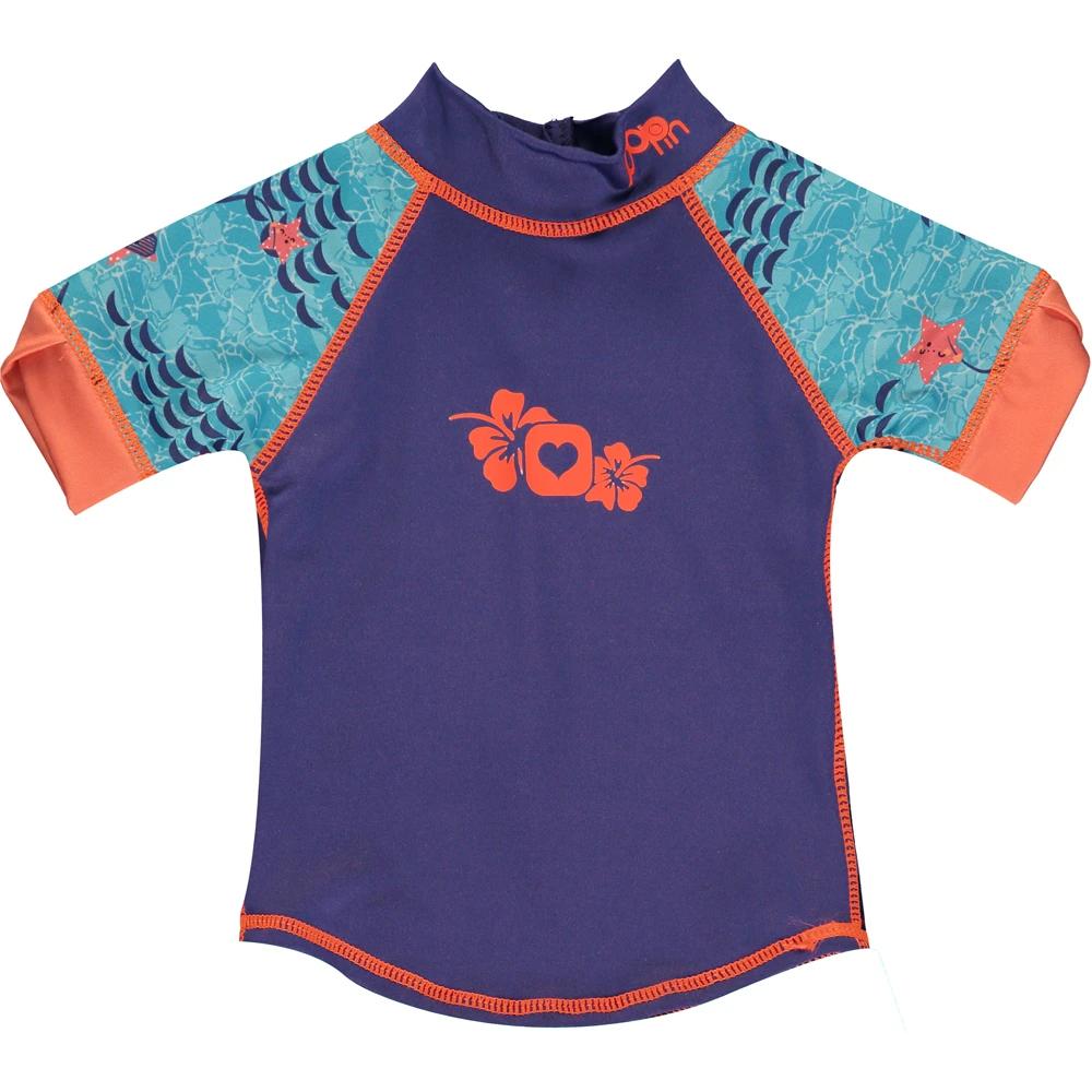 UV-Schutz Shirt 50+ mit kurzen Ärmeln, Pop-In