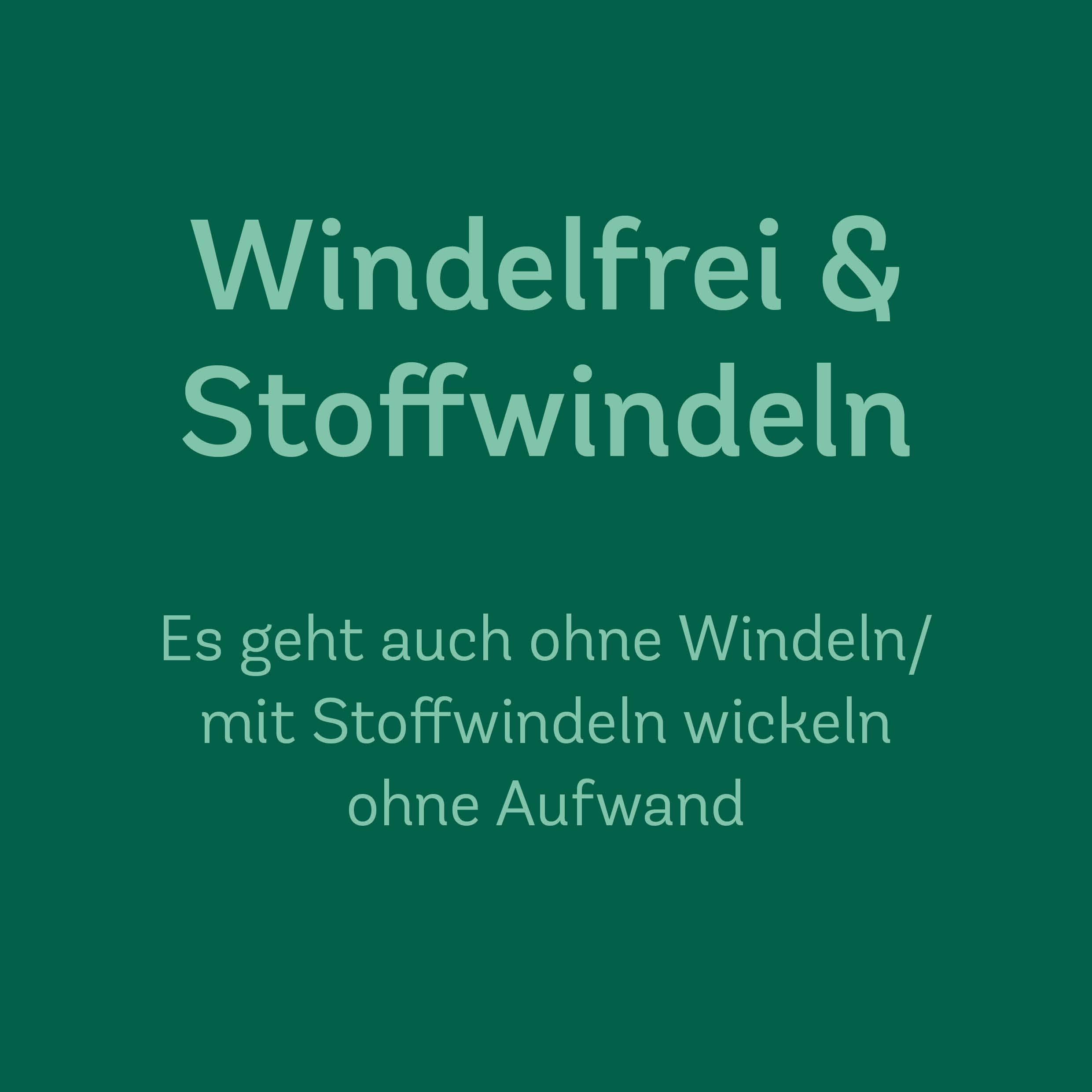 23. Nov. 2020 | 10.00–12.00 Uhr<br>Windelfrei und Stoffwindeln