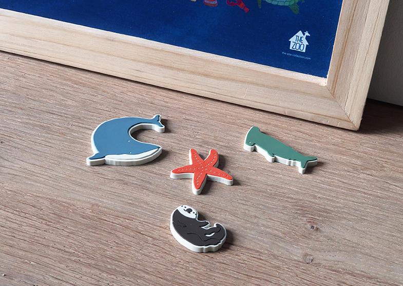 Magnete, 4 Stück von the Zoo