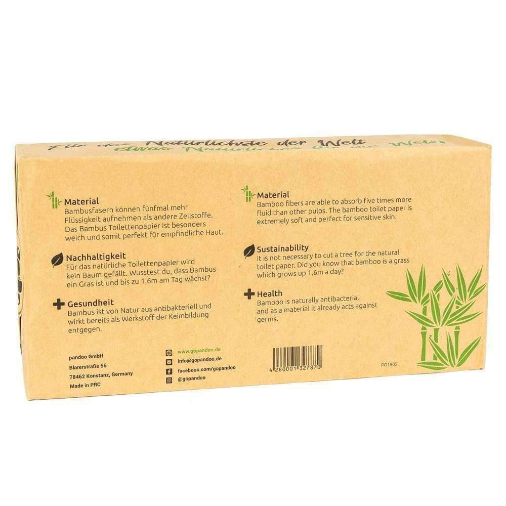 Bambus Toilettenpapier, 3-lagig, 8 Rollen á 200 Blatt