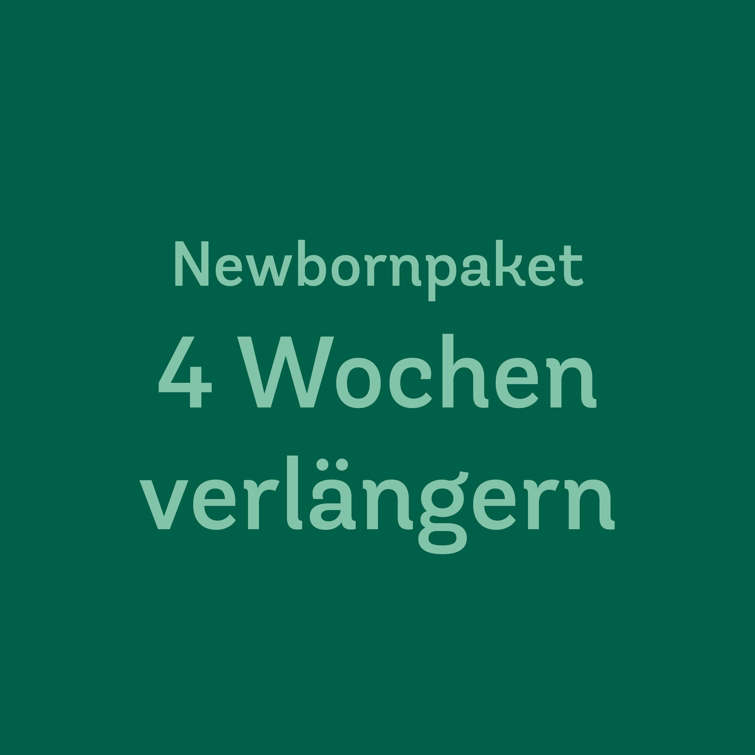 4 Wochen Newbornwindeln verlängern<br>TotsBots/GroVia/SmartBottoms