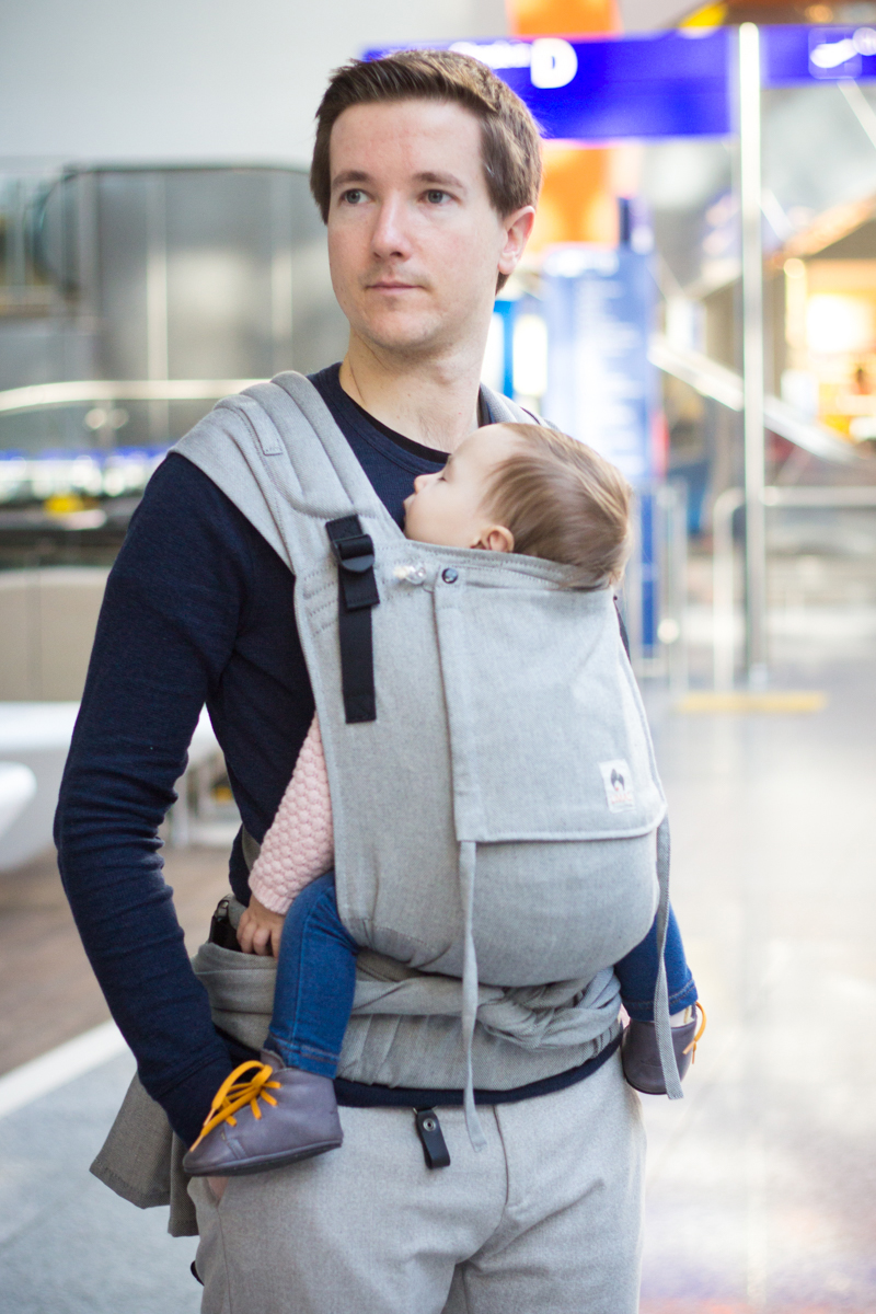 Limas Plus Tragehilfe Toddler, 0,5–3 Jahre (Fullbuckle), versch. Designs