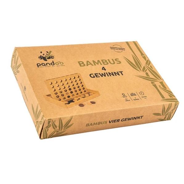 """Bambus-Spiel """"Vier Gewinnt"""""""