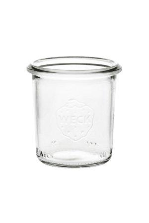 Kerzenglas Weck, 140 ml – für 12h Brenner-Kerze
