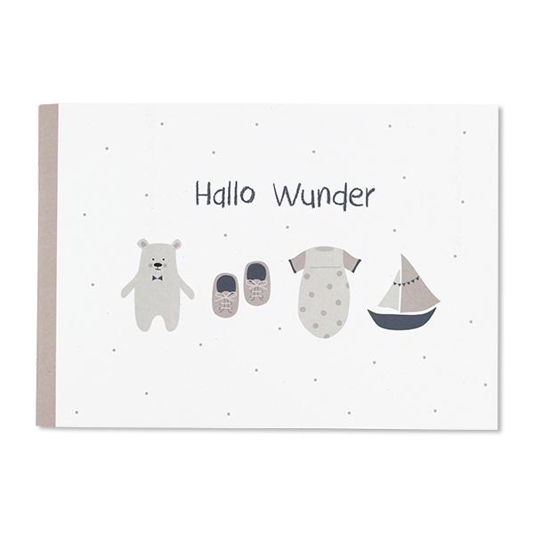 Hallo Wunder – Erinnerungsalbum für die erste Zeit mit Baby