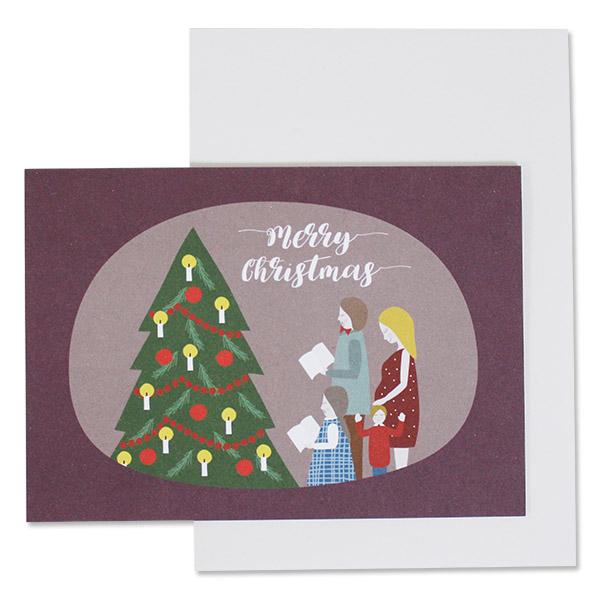 Klappkarten Weihnachten NEU, ava&yves, Recyclingpapier