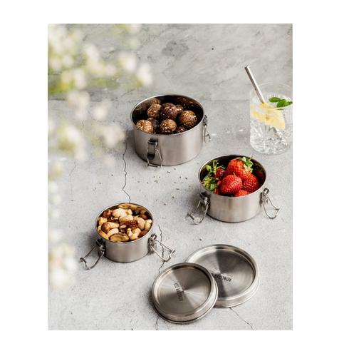 Bao Bowls+ (3er Set), Edelstahldose, EcoBrotbox