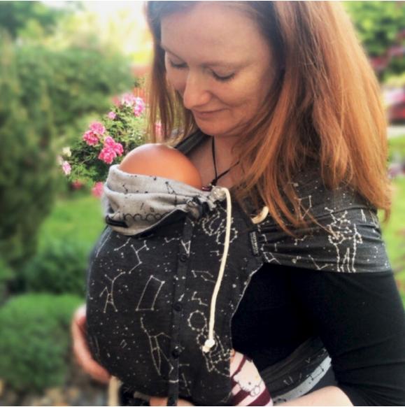 DidyKlick Babytrage, 0–3 Jahre (Halfbuckle), versch. Designs