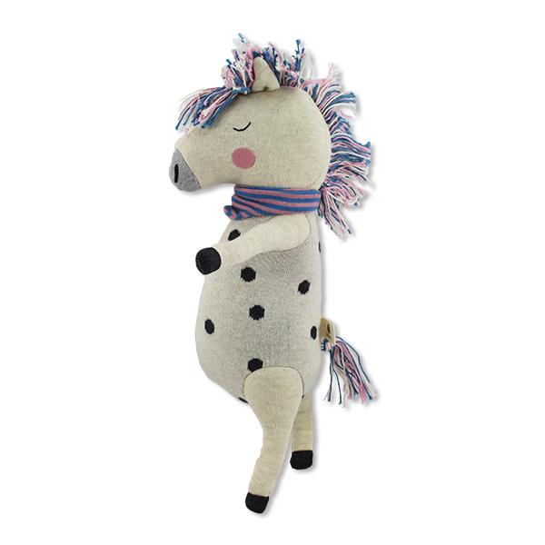 Kuscheltier Rainbow Horse, Biobaumwolle