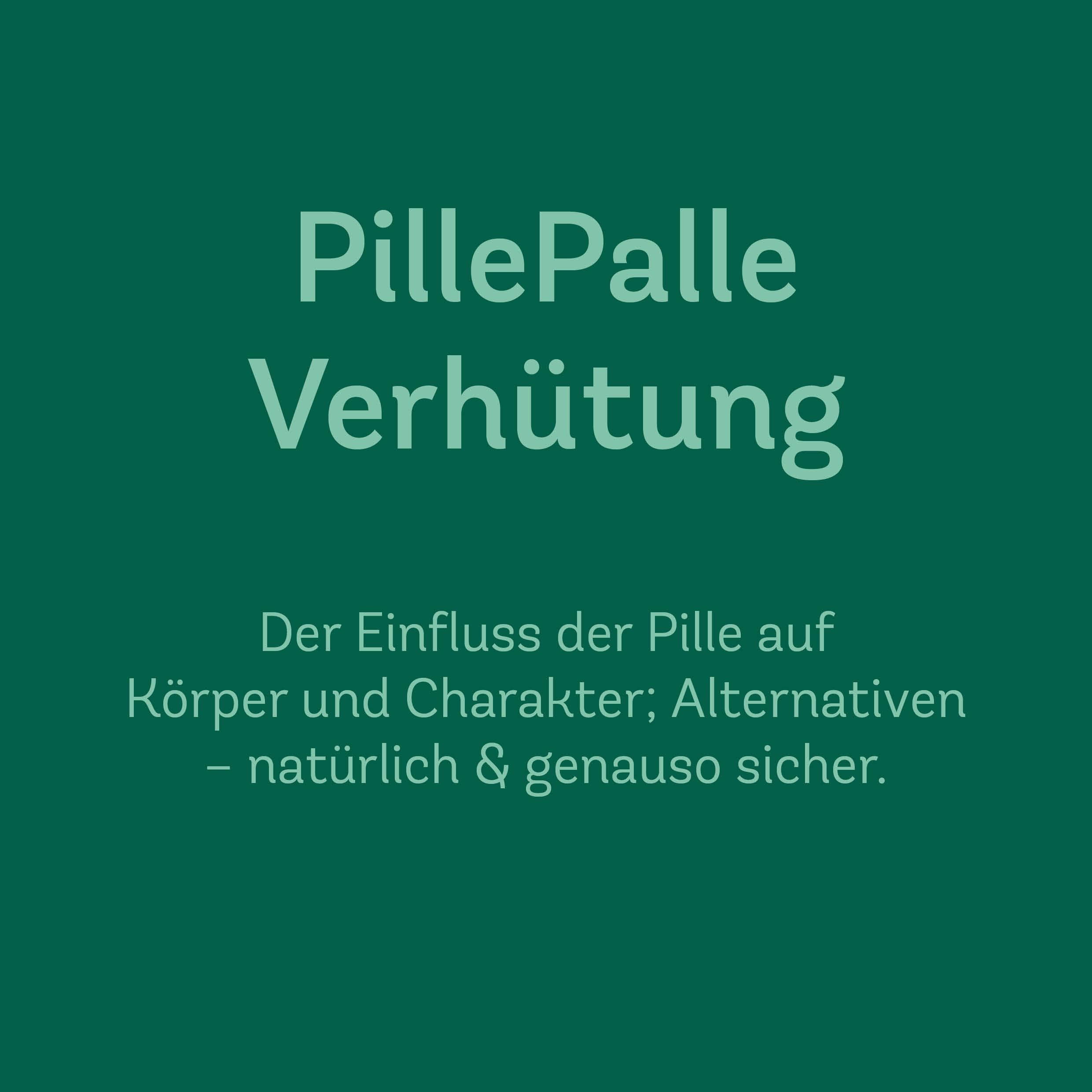 PillePalle Verhütung – Onlinekurs