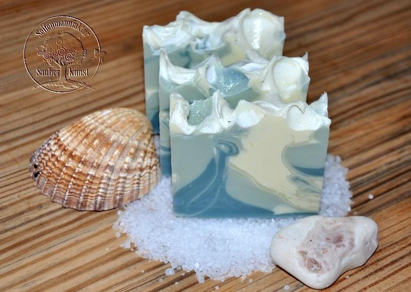 Poseidon, Dusch- und Körperseife, Sauberkunst