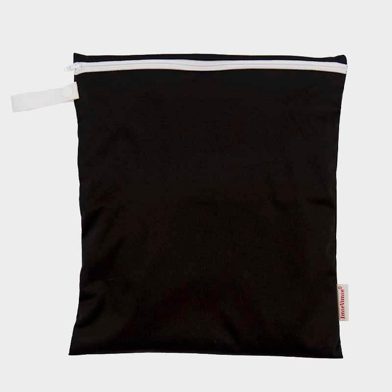 Nasstasche in 2 Größen, schwarz, ImseVimse