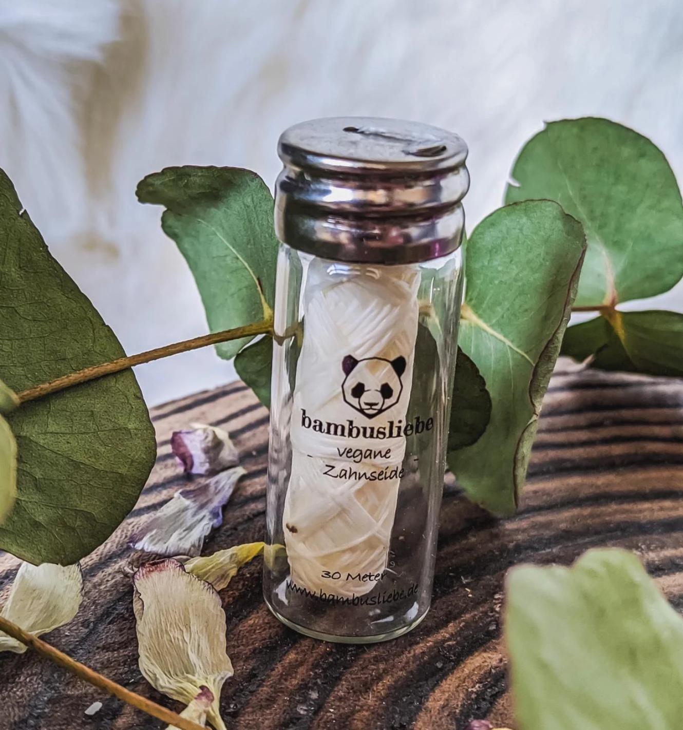 Zahnseide, vegan von Bambusliebe
