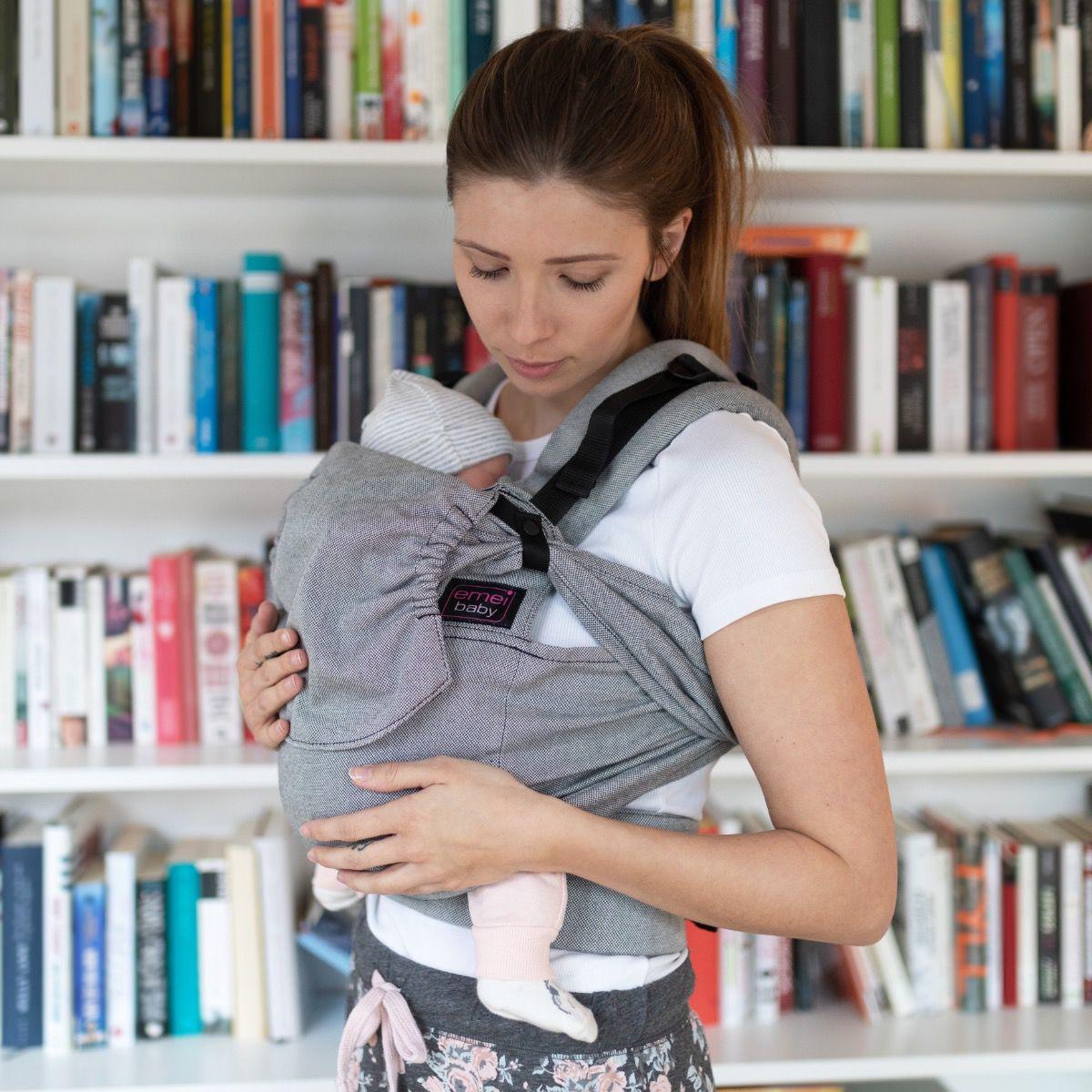 emeibaby easy, Babytrage 0–3 Jahre (Fullbuckle), versch. Designs