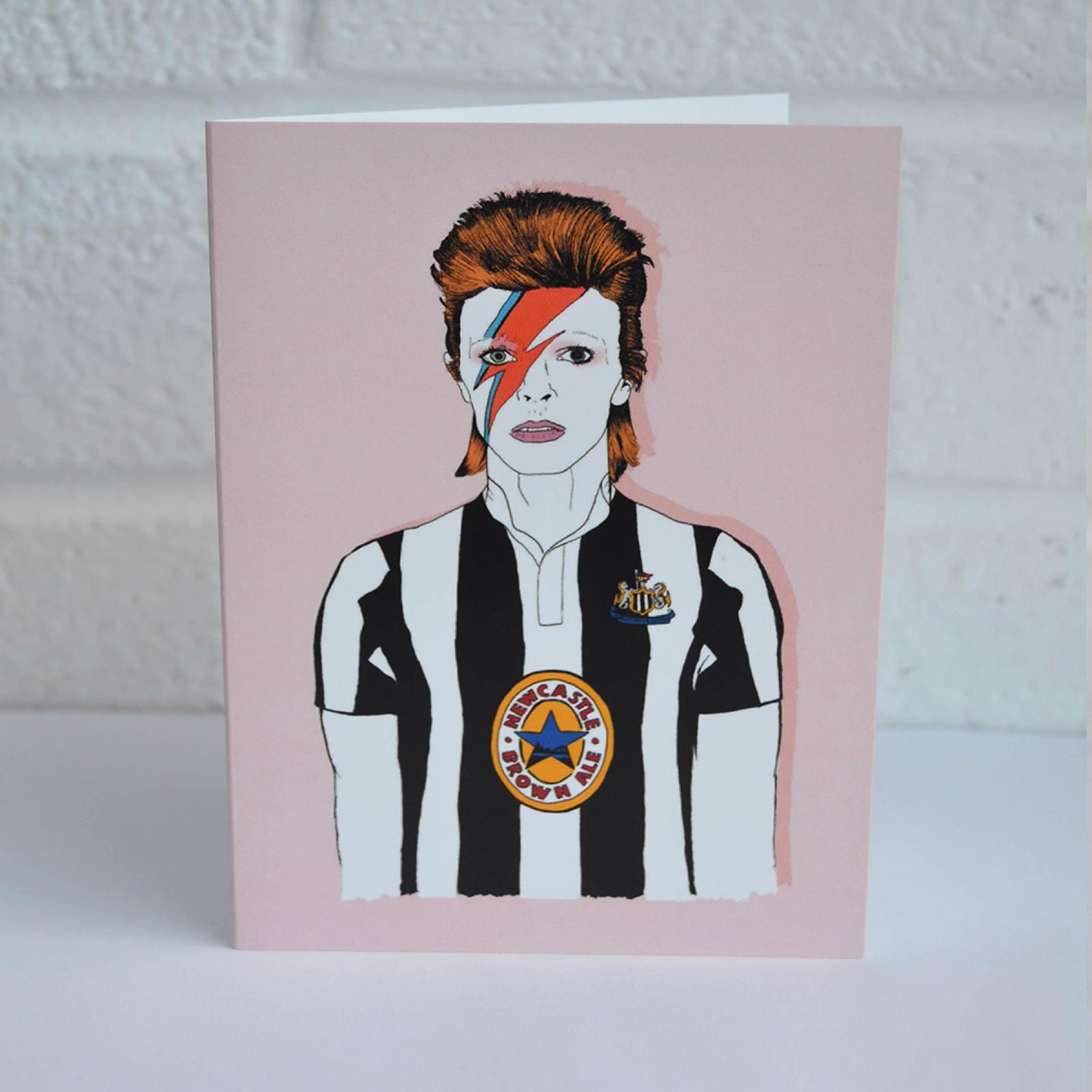 Geordie Bowie Card