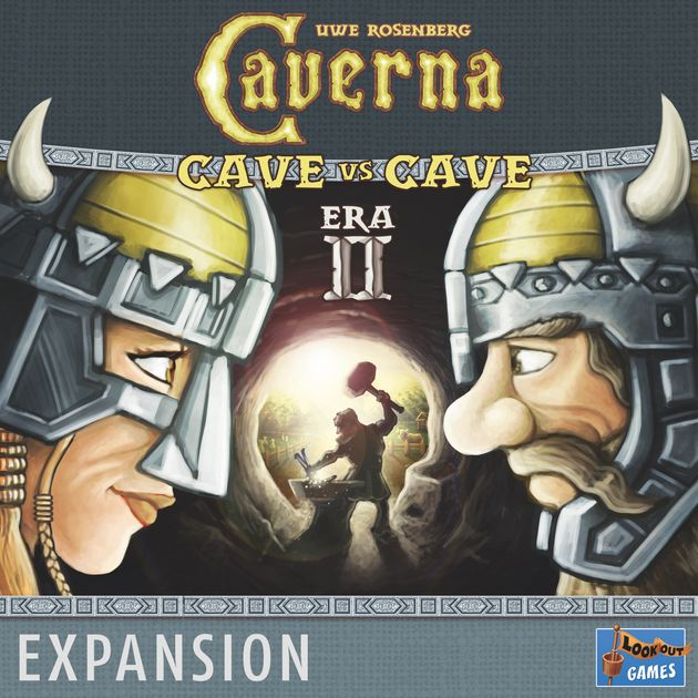 Caverna: Cave vs. Cave- 2nd Era: The Iron Age Exp.