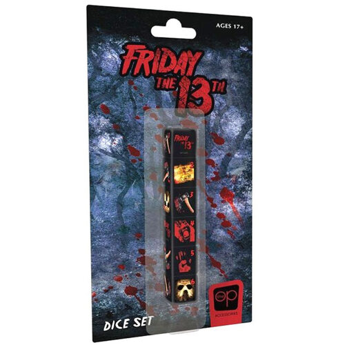 FRIDAY 13TH DICE SET
