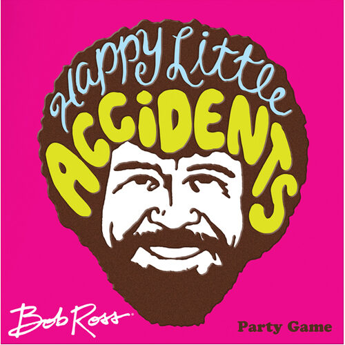 Bob Ross: Happy Little Accidents Party Game