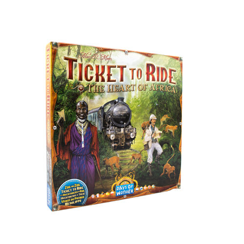 Ticket To Ride Heart of Africa Map Collection Vol 3