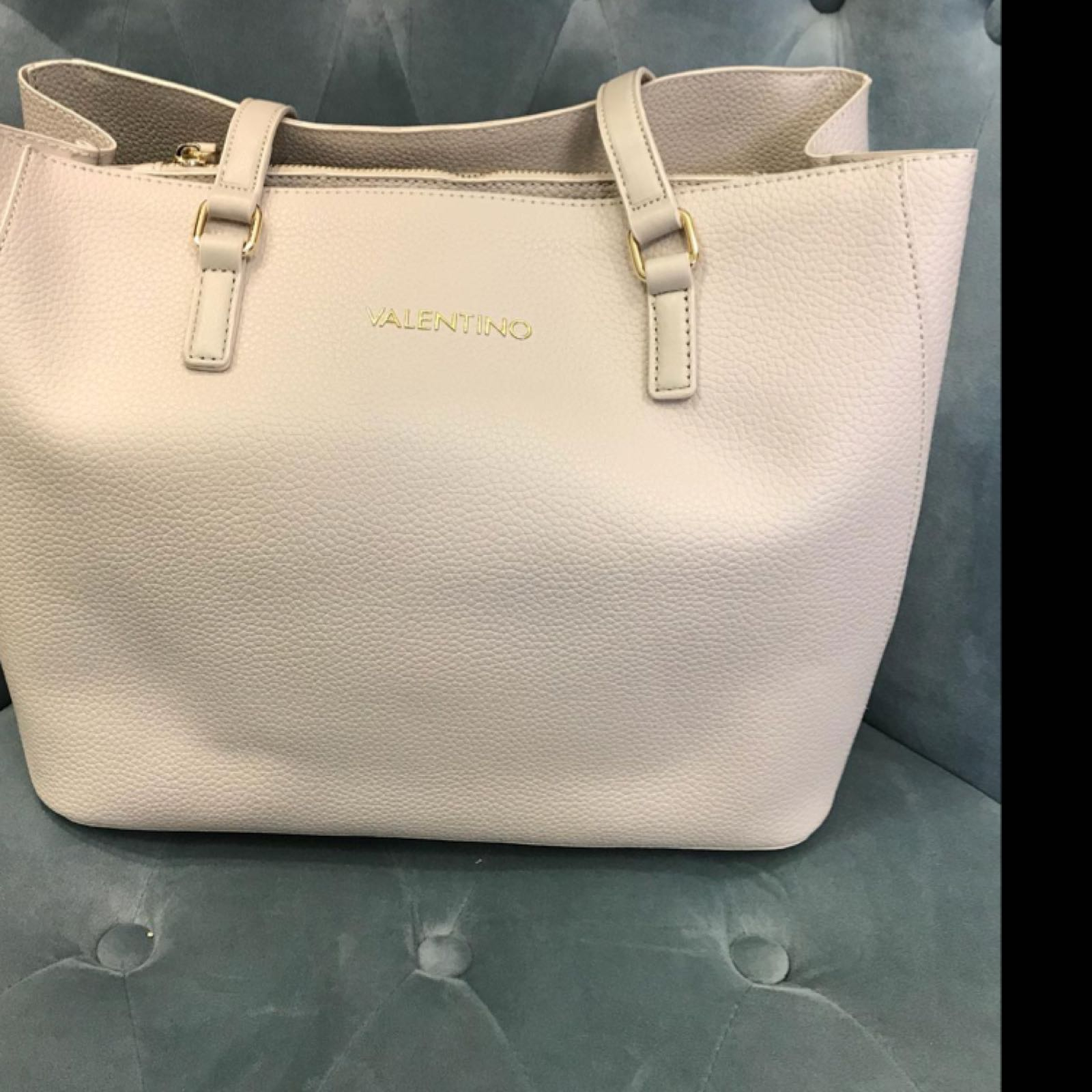 Valentino Superman Large Tote Bag Ghiaccio