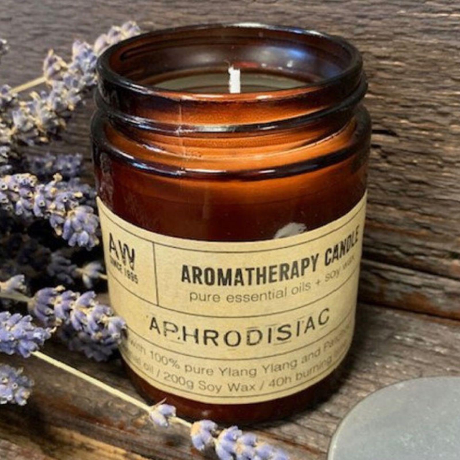 'Aphrodisiac' Aromatherapy Candle