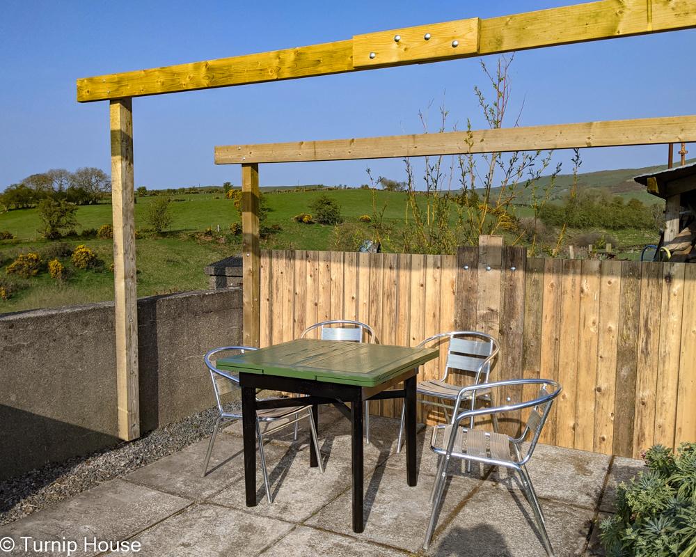 Terrace Pergola Table 16th May