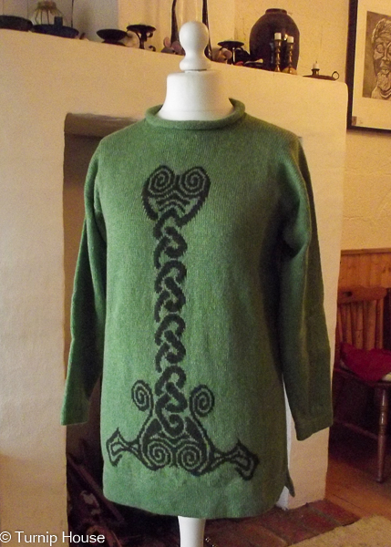 Spiral Sweater
