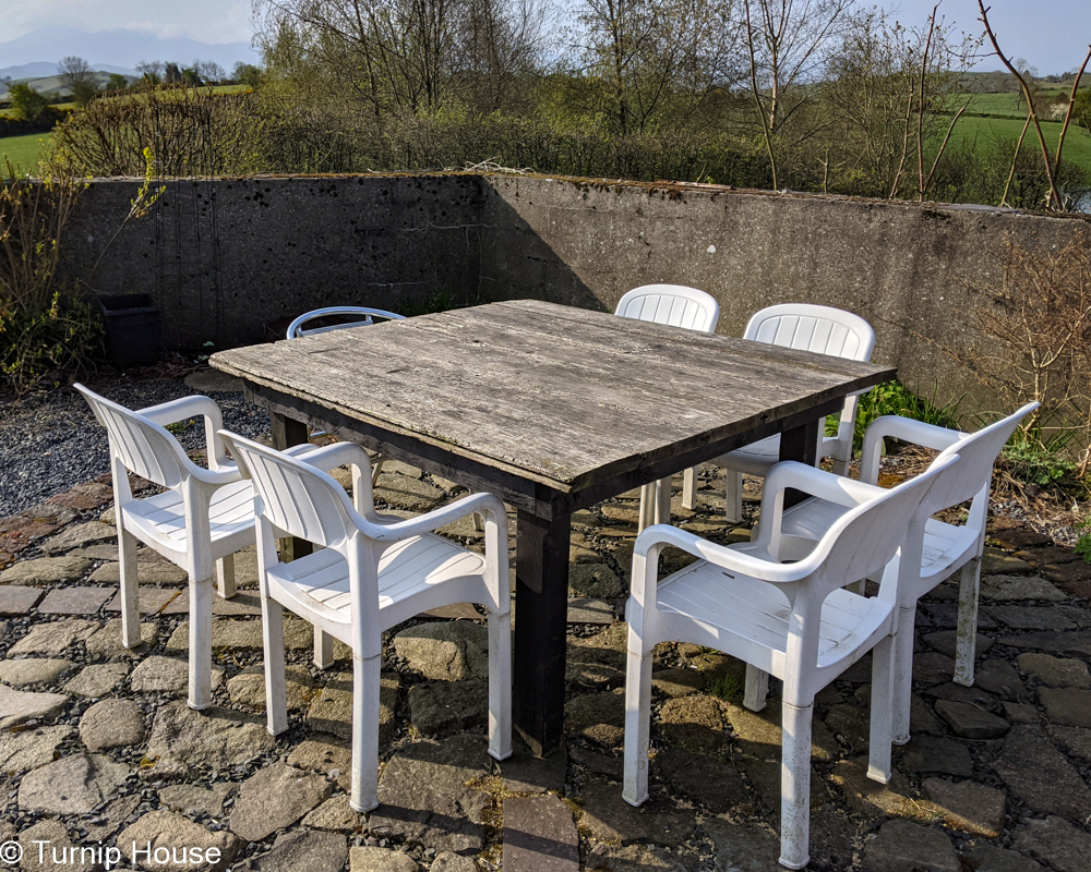 Terrace Compass Table 8th May