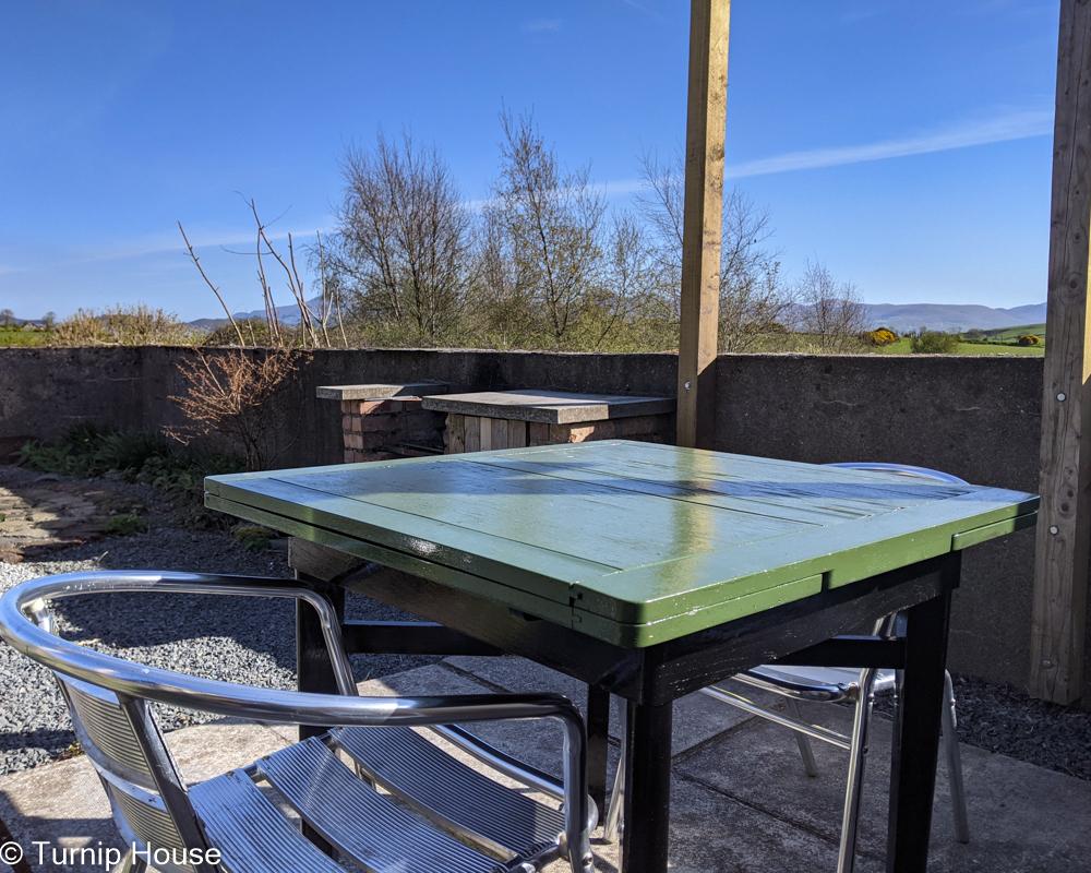 Terrace Pergola Table 31st October