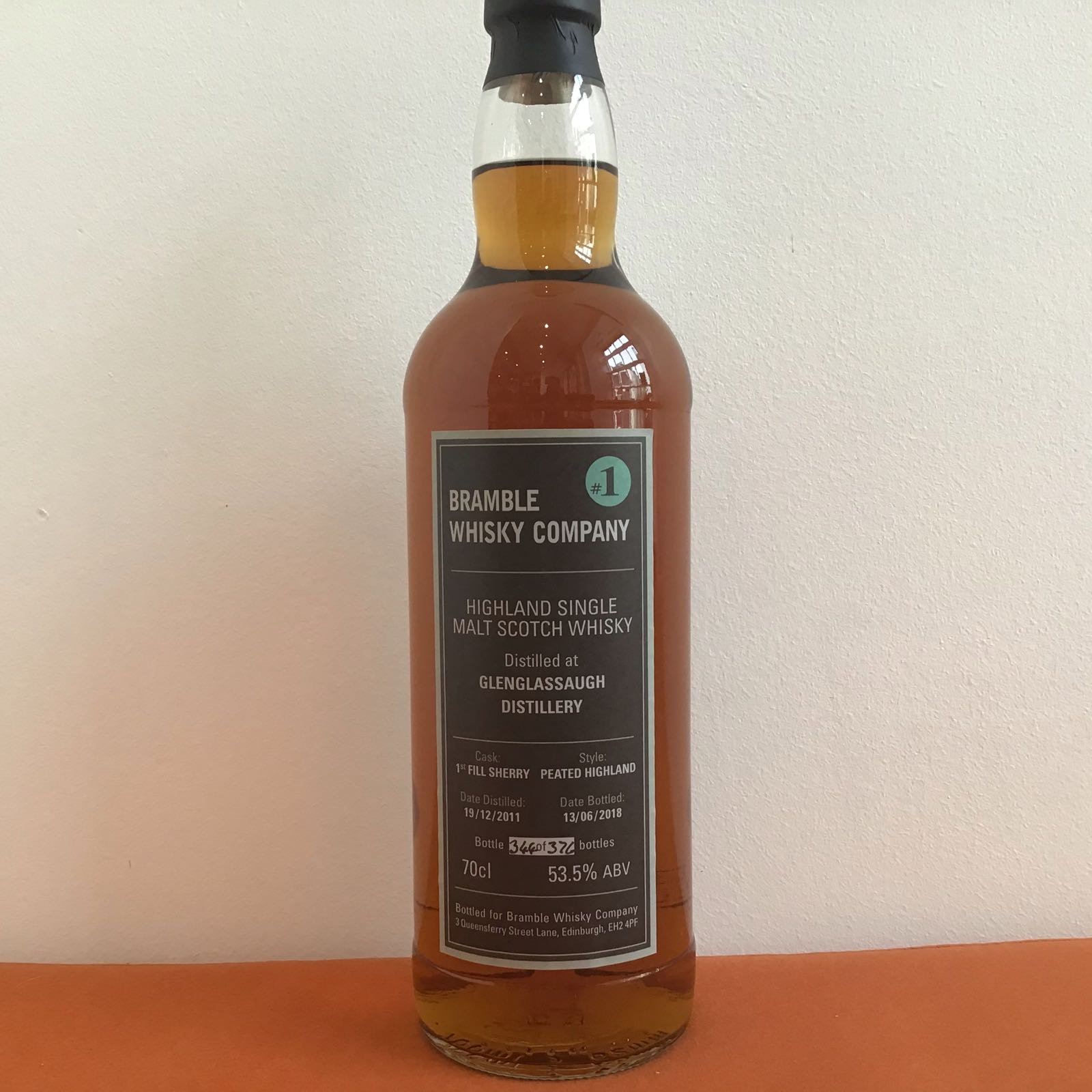 Bramble Whisky Company: #1 Single Cask Glenglassaugh