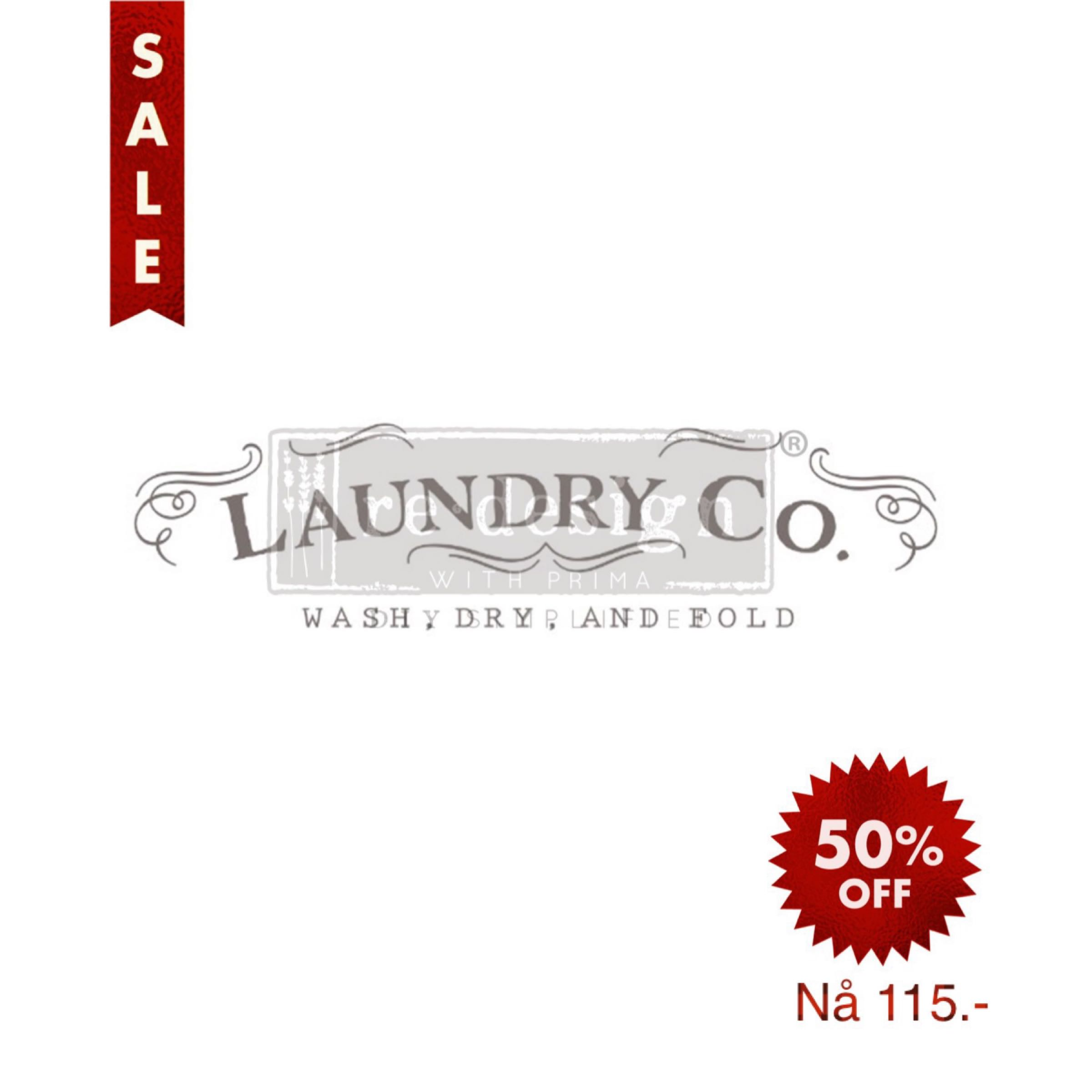Re-Design with Prima Decor Transfer - Laundry OUT OF STOCK