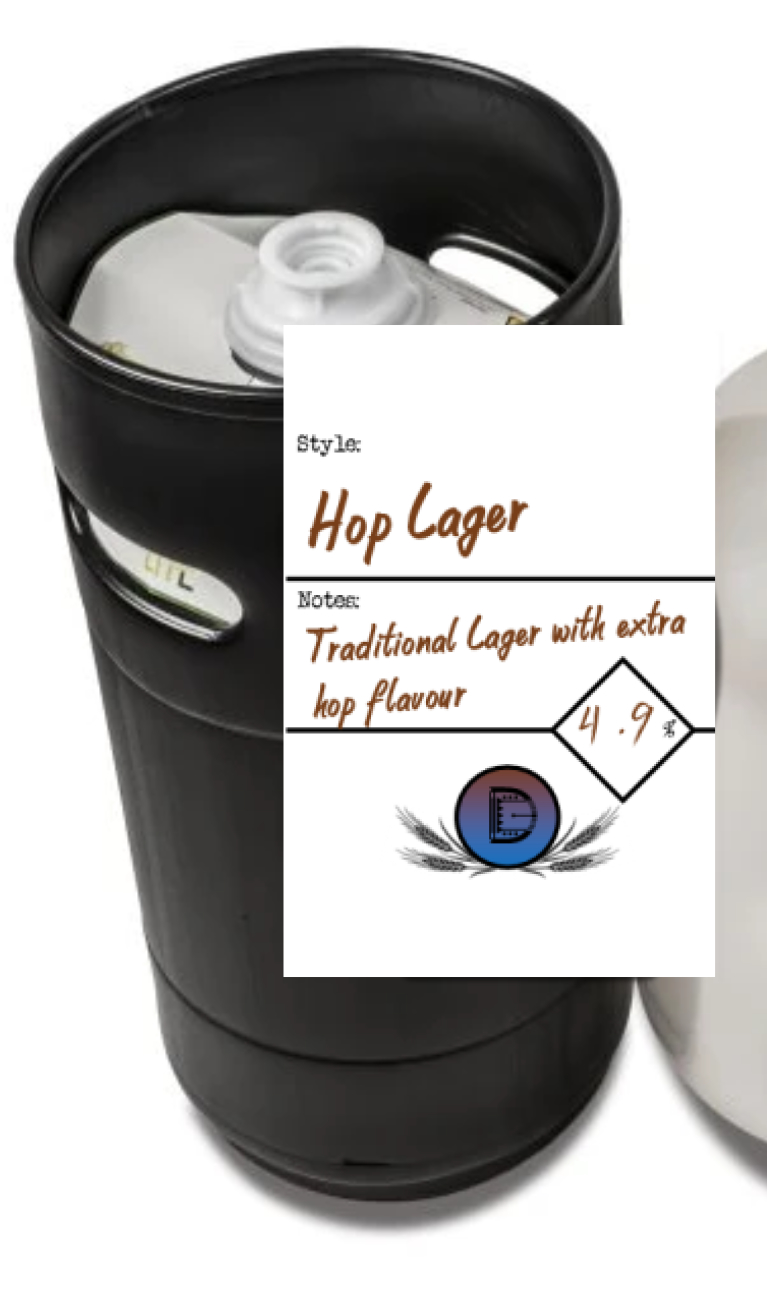 Hop Larger 27l Eco Keg