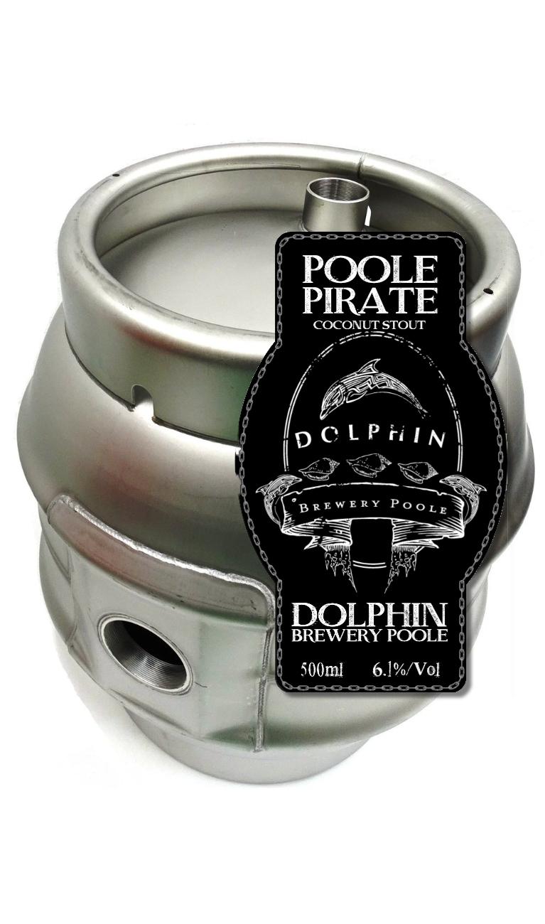 Poole Pirate Cask