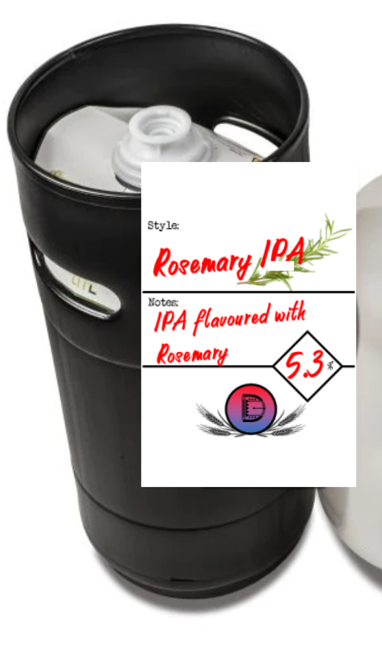 Rosemary IPA 27l Eco Keg