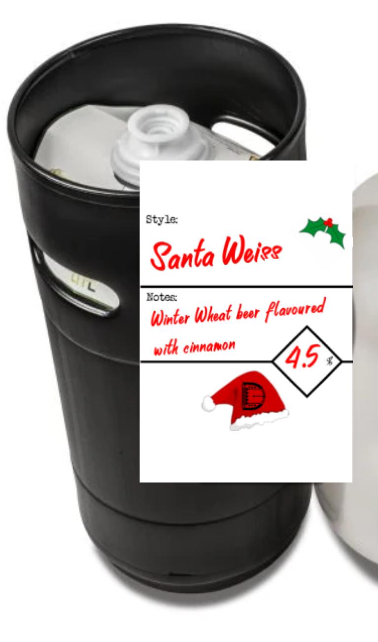 Santa Weiss 27l Eco Keg