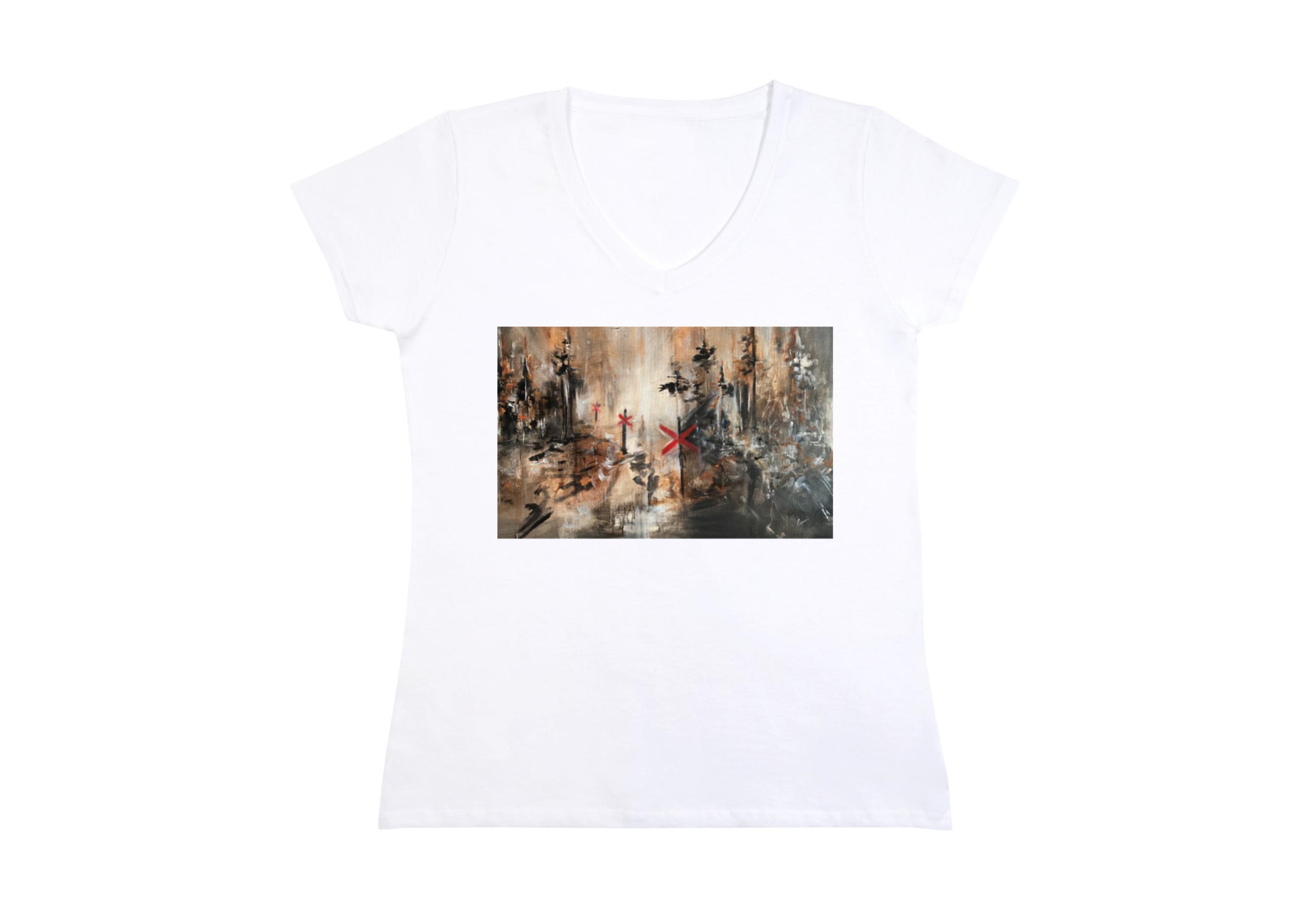 """T-shirt dam """"På väg"""""""