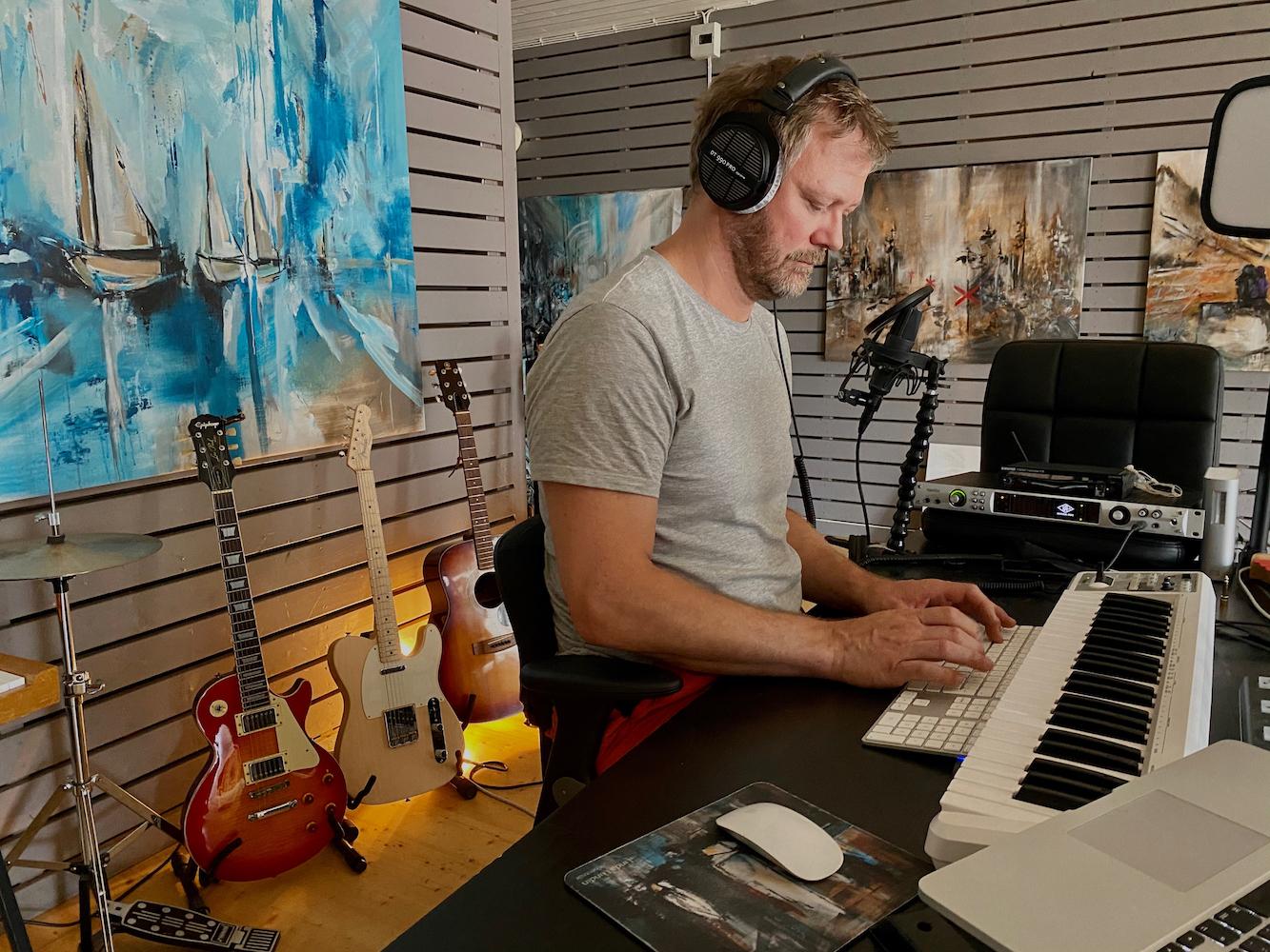 Sång & musikinspelning & mix - heldag (ca 8h)