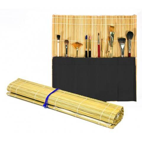 Penselmatta bambu 36X36