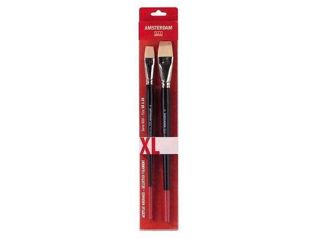Acrylic brush series 600 XL, nr 18, 24 - Amsterdam