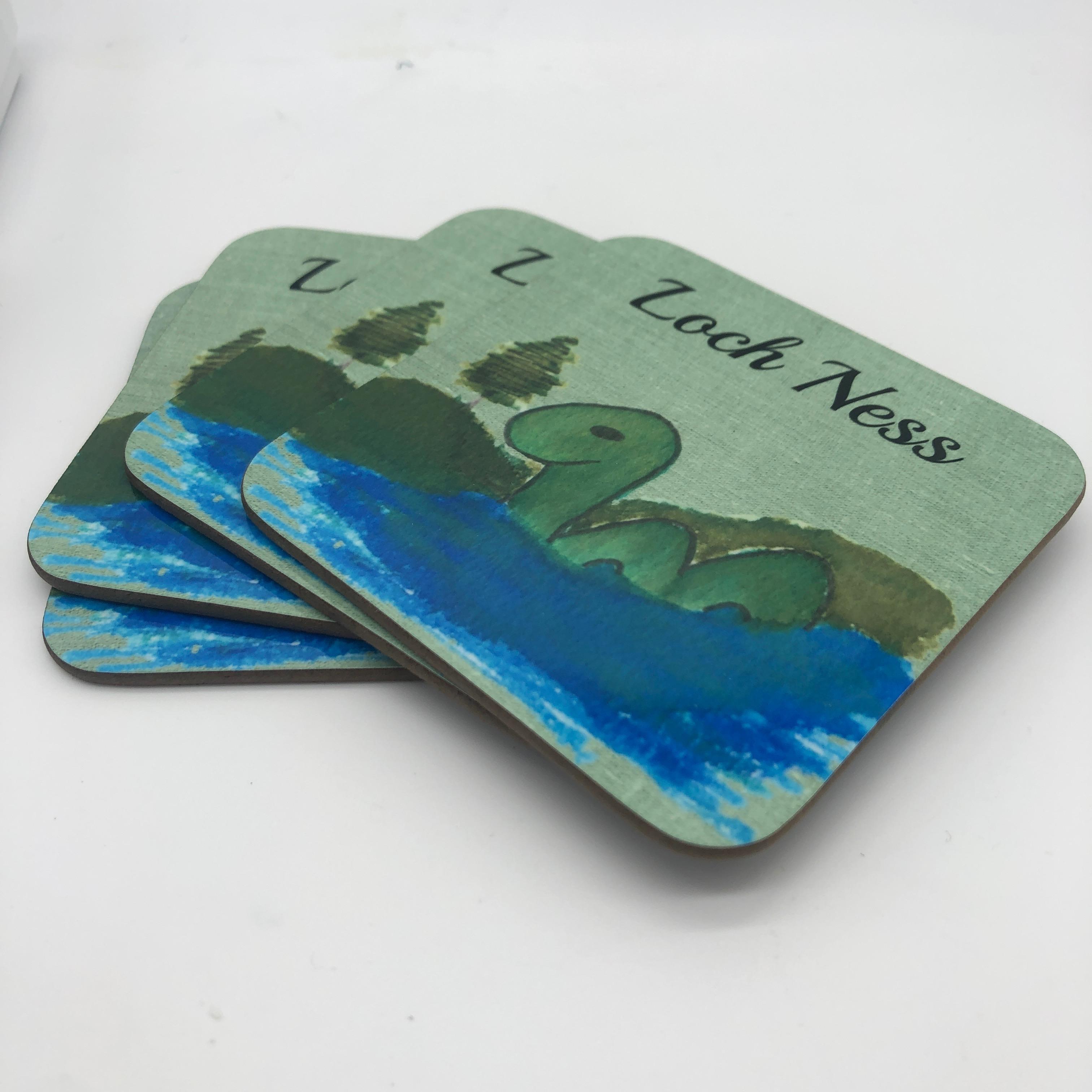 Nessie Coasters