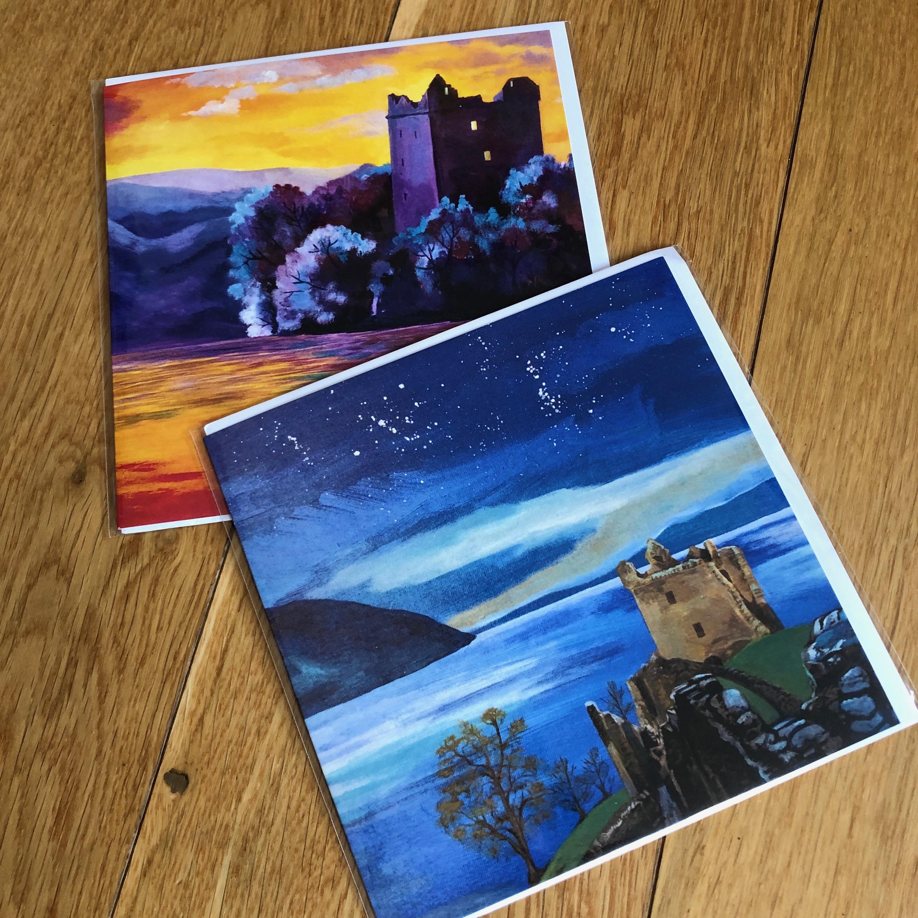 Urquhart Castle Greetings Cards