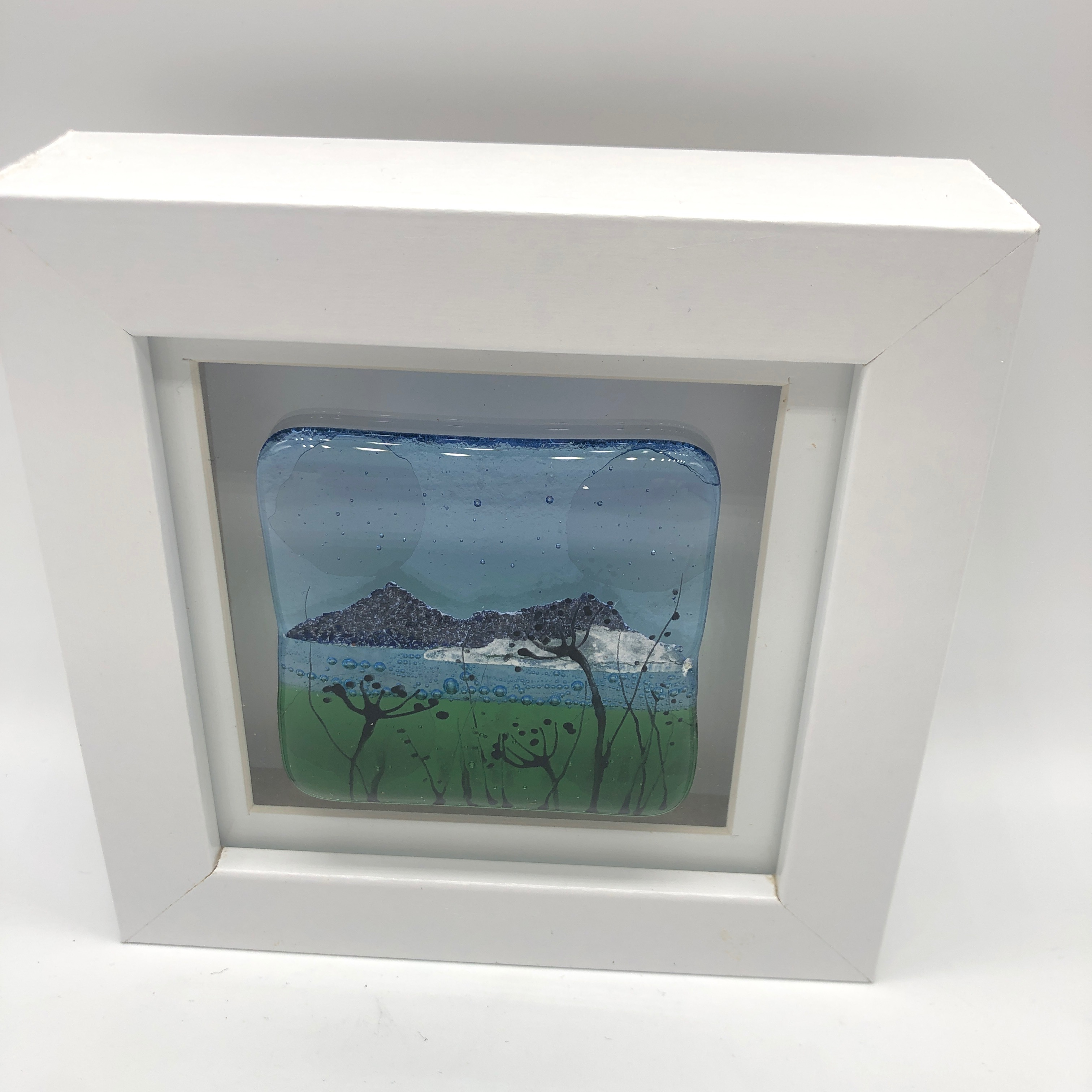 Hand Painted Glass Mini Frames