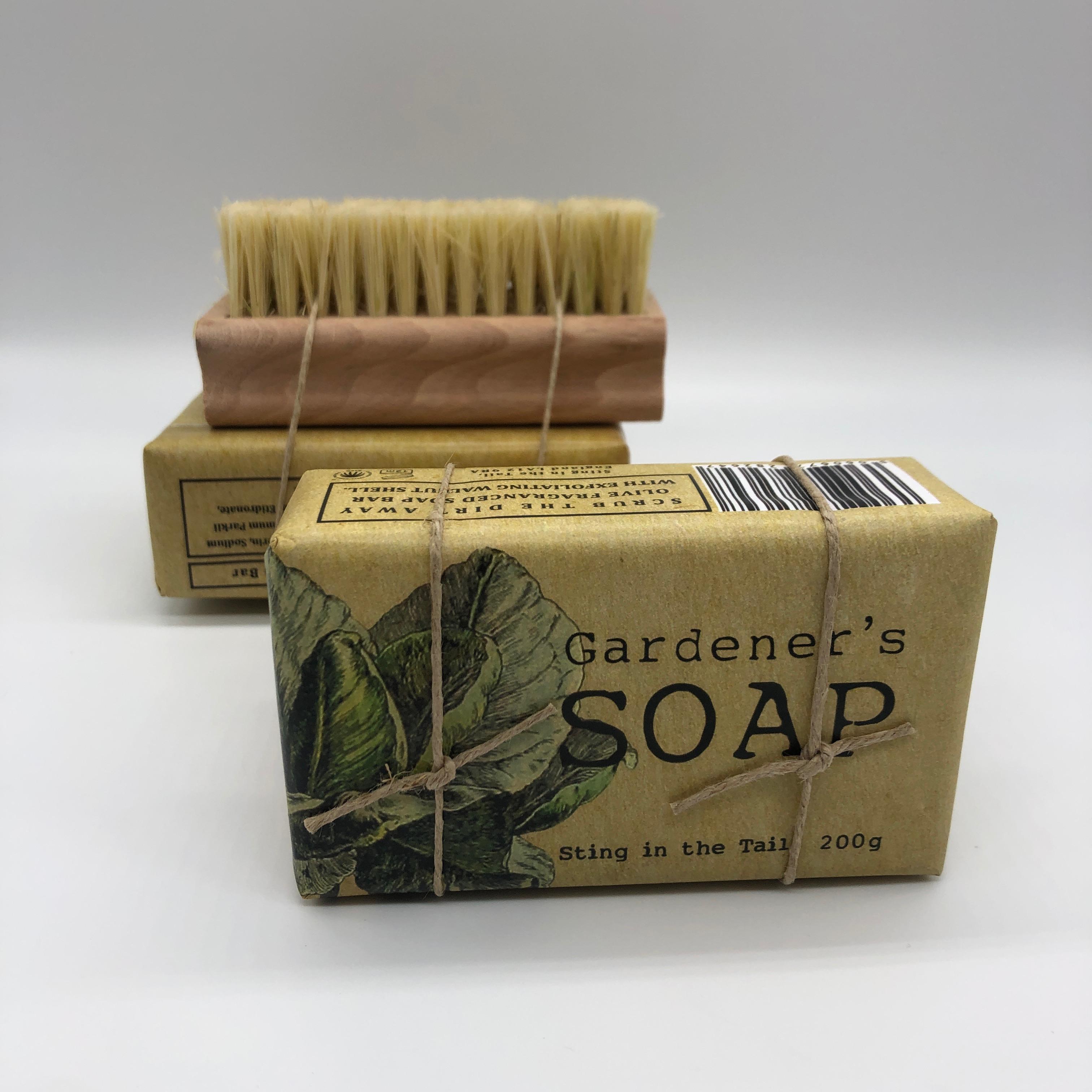 Gardener's Soap & Nailbrush