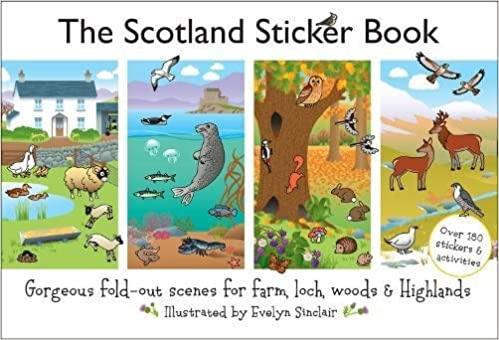 The Scotland Sticker Book