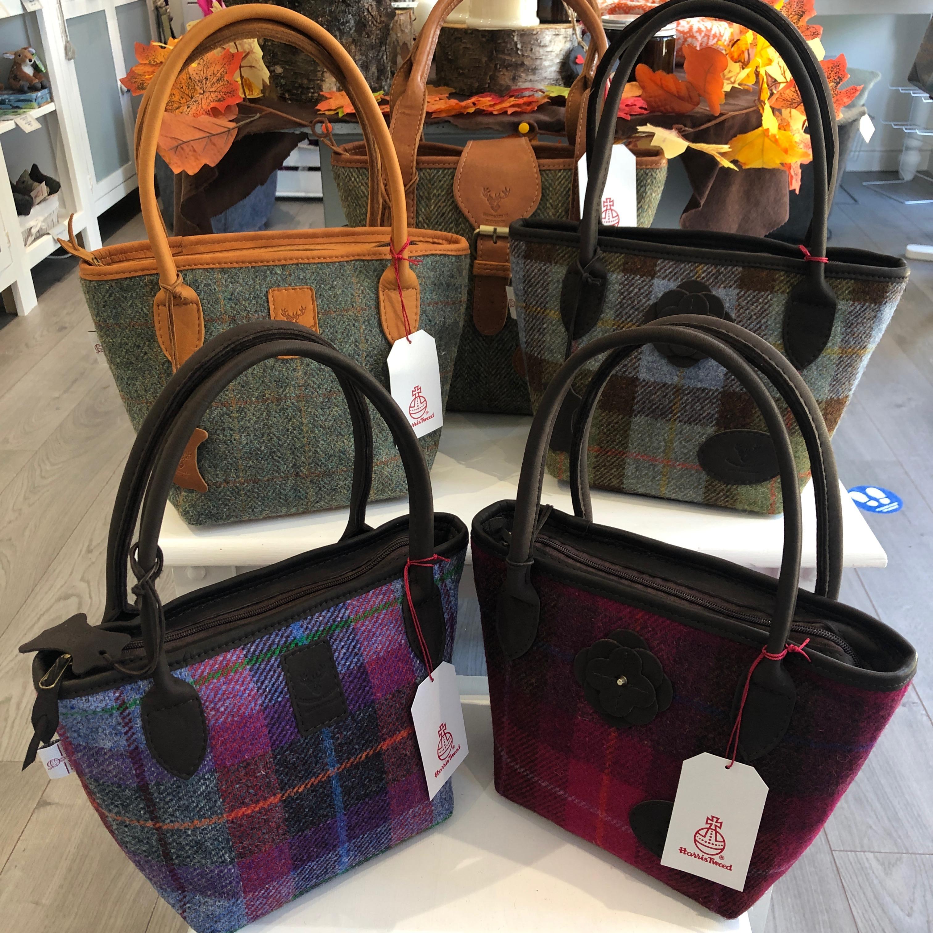 Leather & Tweed Bags