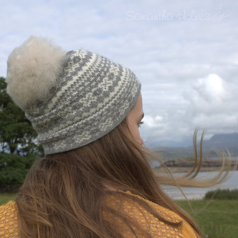 Alpaca Fair Isle Hat - Adult
