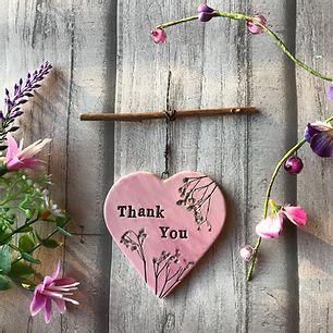 Letterbox Ceramic Hearts